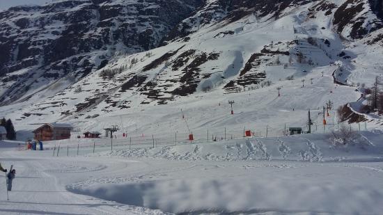 la petite station alpine de Bessans