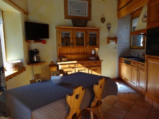 salle à manger - coin cuisine