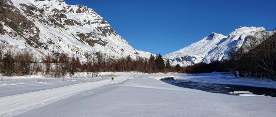 Magie du ski de fond....