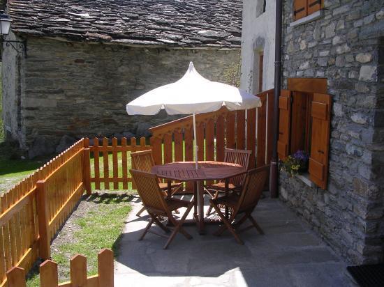 le terrasse en été